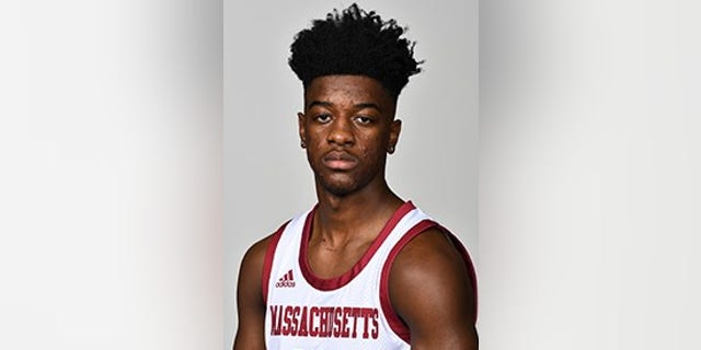 Sean East hit the shot of the night for UMass in a victory over Northeastern. (UMass website)
