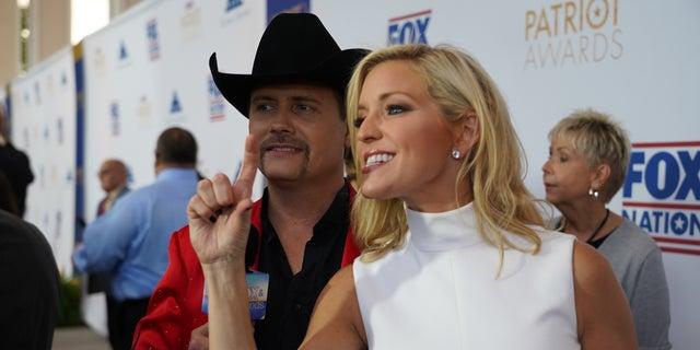 Backstage at Fox Nation Patriot Awards