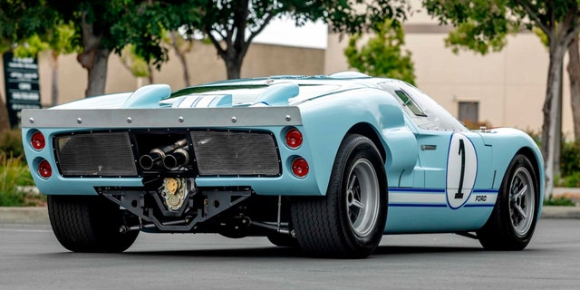 Westlake Legal Group bale2 Christian Bale's GT40 from 'Ford v. Ferrari' is racing to the auction block Gary Gastelu fox-news/auto/attributes/racing fox-news/auto/attributes/performance fox-news/auto/attributes/custom fox-news/auto/attributes/collector-cars fox news fnc/auto fnc article 19057563-f4f5-5157-b74d-b91f141025ed