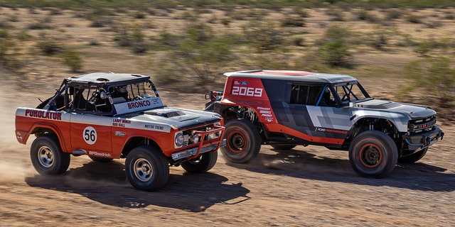 First Look Video Of Ford Bronco R Baja Racer