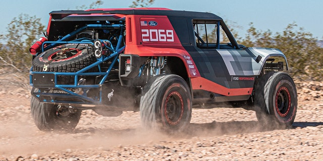 Ford Bronco R Racing Prototype Previews Upcoming SUV