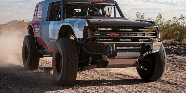 Ford Bronco R race prototype revealed