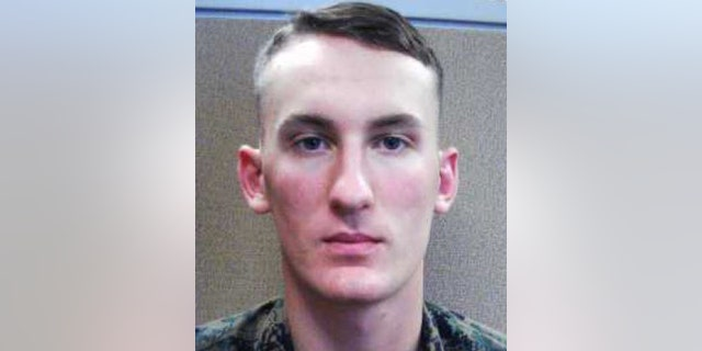 Thi s photo provided by the Franklin County Sheriff's Office, dated Sept. 2019, shows Brown who previously served as a combat engineer in the Marines.