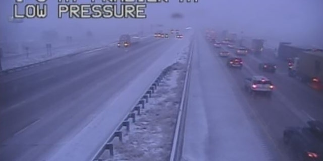 Interstate 5 between the northern California cities of Yreka and Redding experienced blizzard conditions early Wednesday.