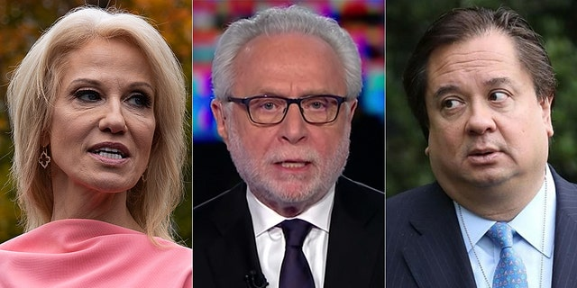 Kellyanne Conway mocked CNN's Wolf Blitzer for asking about her husband, George Conway.