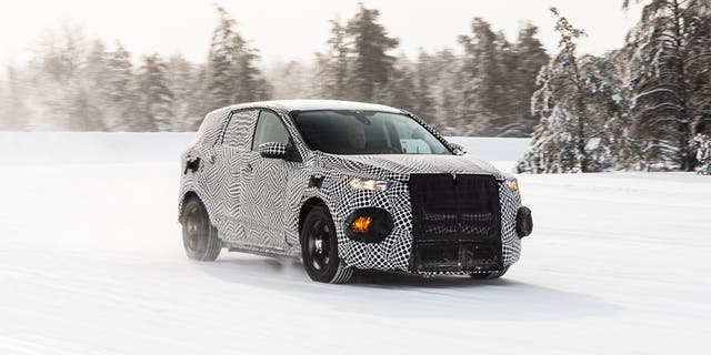 Ford has been using this prototype vehicle to test electric drivetrain components.