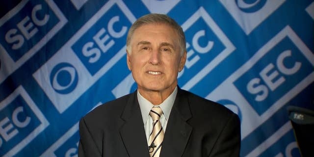 Gary Danielson of CBS Sports criticized social media Saturday for comments during the Georgia Auburn college football game. (CBS Sports)