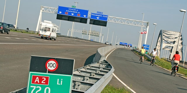The daytime speed limit in the Netherlands will be reduced to 62 mph in order to reduce emissions.
