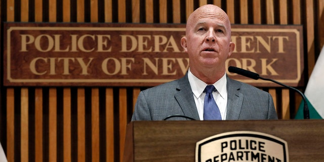 NYPD Commissioner James O'Neill expected to resign