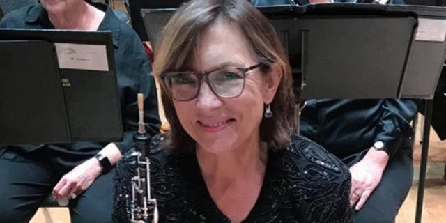 Janice Thomson died Monday after falling down a flight of stairs minutes before a season-opening concert performance.
