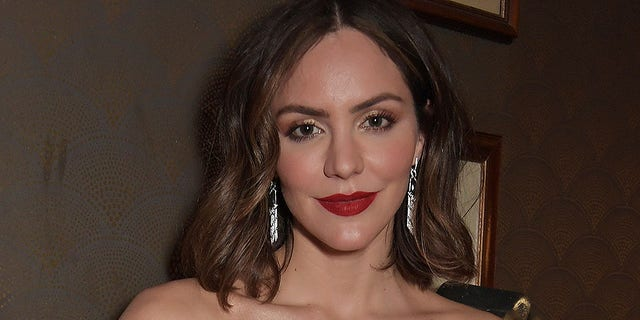 Katharine McPhee says she 'loves being a mommy.'