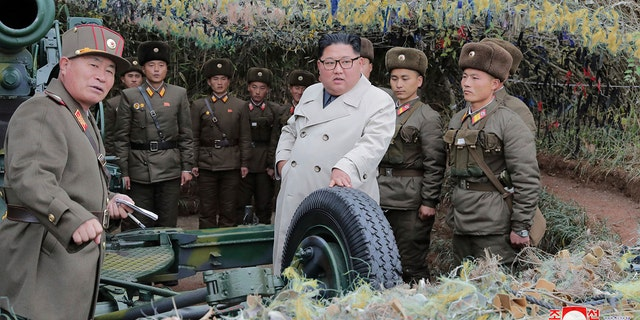 Kim has set an end-of-year deadline with Washington for the stalled nuclear negotiations. (Korean Central News Agency/Korea News Service via AP, File)