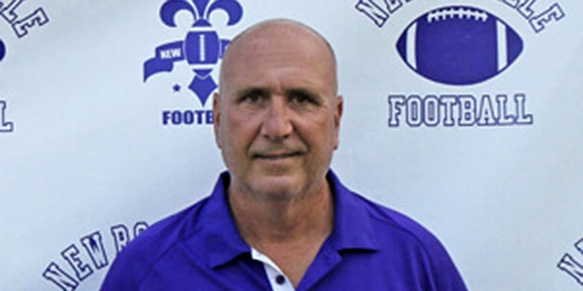 New Rochelle High School football coach Lou DiRienzo