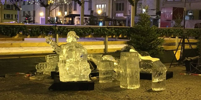 Boy killed by ice sculpture fall at Luxembourg market