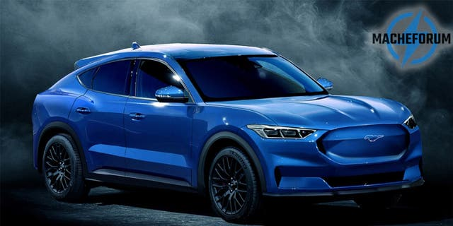 """This speculative rendering of the """"Mustang-inspired"""" SUV combines elements from a number of teaser images released by Ford."""