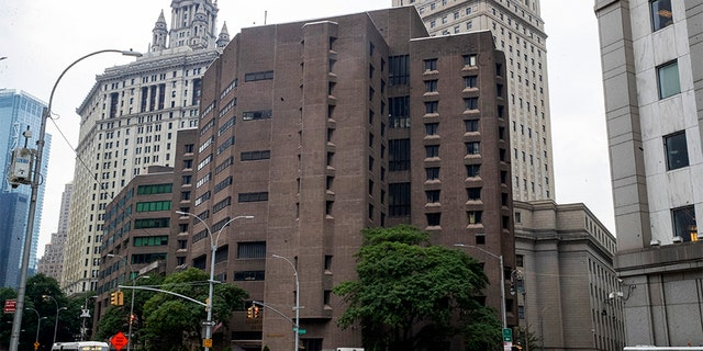 The Metropolitan Correctional Center in New York, where Epstein is said to have committed suicide on Aug. 10.