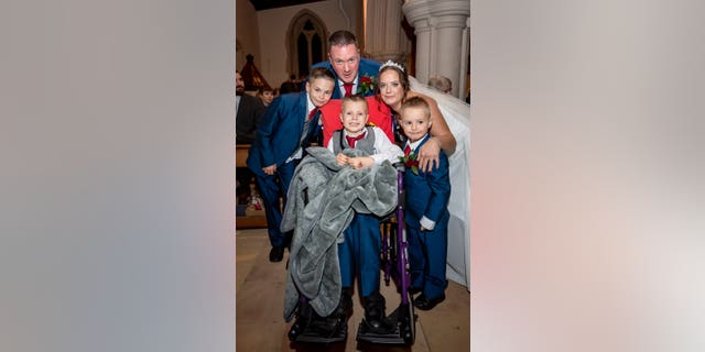 The pair were due to wed next summer but moved up the ceremony after learning that Ethan's cancer had returned, and was terminal.
