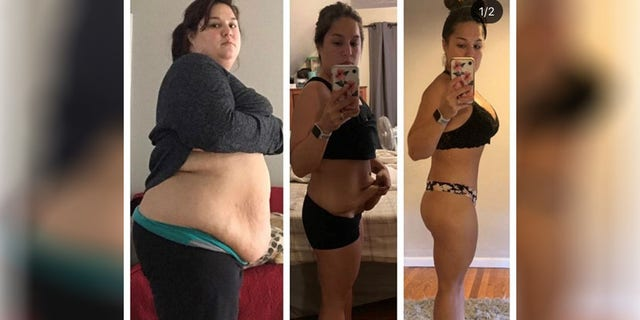 Since getting weight-loss surgery and starting her diet and exercise routine, Nicole Caperilla has lost over 120 pounds.