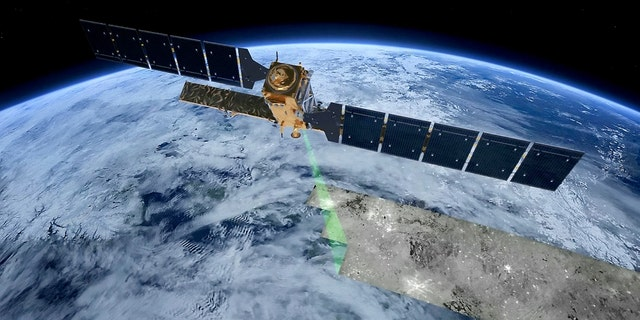 Satellites such as Sentinel-1 and ALOS-2 carry advanced synthetic aperture radars that can provide data to map changing land cover, ground deformation, ice shelves and glaciers and can be used to help emergency response when disasters such as floods strike.(Credit: SWNS)