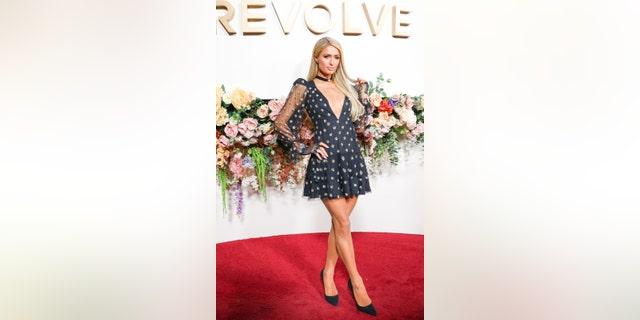 Paris Hilton has 'simple life vibes' in red minidress
