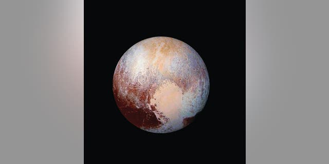 "To follow up on NASA's New Horizons mission that revealed Pluto's ""heart,"" SwRI is studying a new Pluto orbiter mission for NASA. SwRI has shown it is possible to orbit Pluto and then escape orbit to tour additional dwarf planets and Kuiper Belt Objects. (Credit: NASA/JHUAPL/SwRI)"