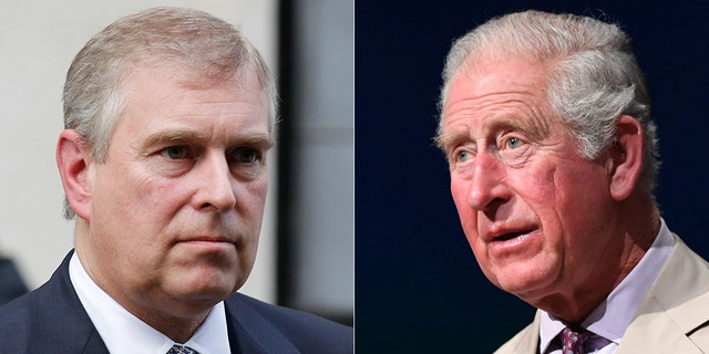 According to one royal expert, Prince Andrew's older brother Prince Charles (right) was actively involved in the royal stepping back from his formal duties.