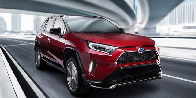Westlake Legal Group rav3 L.A. Auto Show: The 2021 Toyota Rav4 Prime is a powerful plug-in hybrid Gary Gastelu fox-news/news-events/los-angeles-auto-show fox-news/auto/style/suv fox-news/auto/make/toyota fox-news/auto/attributes/hybrids fox news fnc/auto fnc d5c850d5-d13b-5ea2-a04c-33dcbdc0b0b1 article