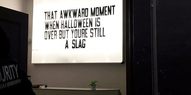 A nightclub in England has been accused of promoting misogyny, victim-blaming and rape culture after displaying the above sign.