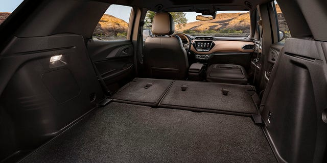 The Trailblazer features a fold-down fron passenger seat and can accommodate 8.5-foot-long items inside.