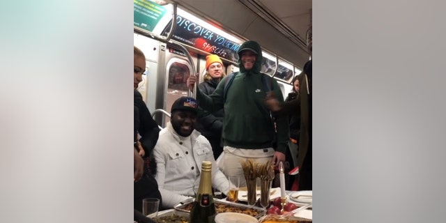 The train was reportedly a Brooklyn-bound L train.