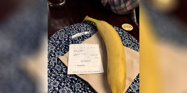 Westlake Legal Group unwanted-banana Bar patron claims customer sent him 'racist' food order through anonymous app Michael Hollan fox-news/world/world-regions/united-kingdom fox-news/food-drink/food/restaurants fox news fnc/food-drink fnc ba047f53-98fa-58c3-a502-a4e98e895c0a article