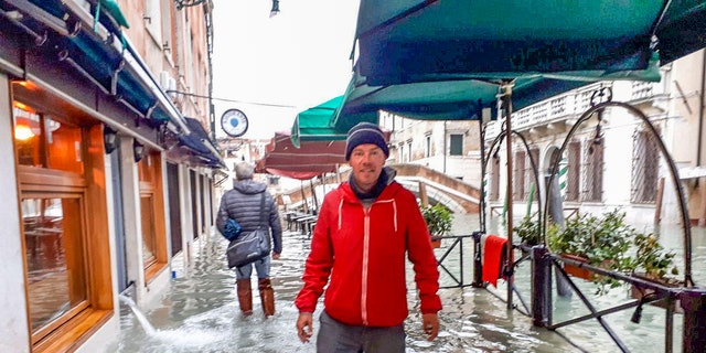 Richard Williams and his partner Elizabeth Dale planned to meet in Venice for a short getaway — amid the worst flooding the historic Italian city has seen in more than 50 years.