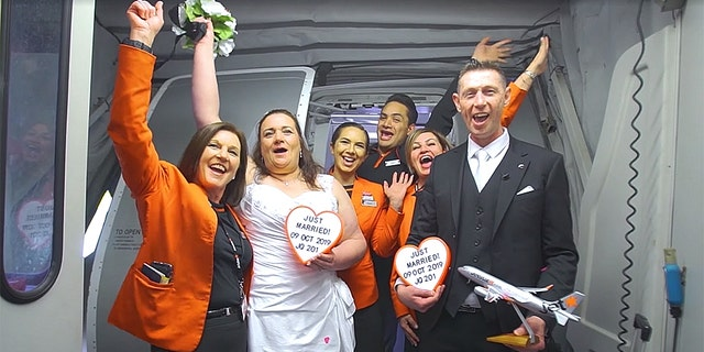 "One couple recently became husband and wife at 34,000 feet, saying ""I do"" during the middle of a Jetstar Airways flight between their hometowns of Sydney, Australia and Auckland, New Zealand."