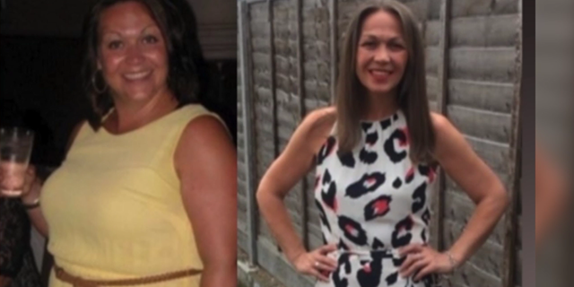The 43-year-old mom claims the cyst caused her to lose 70 pounds because she was unable to eat properly.