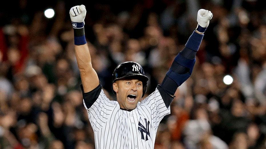 Derek Jeter Leads Newcomers On Baseball Hall Of Fame Ballot