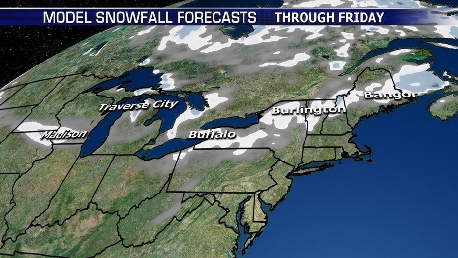 National forecast for Tuesday, November 5