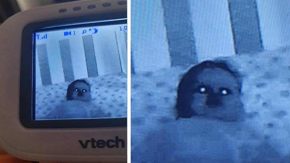 Mom discovers terrifying 'ghost baby' in son's crib