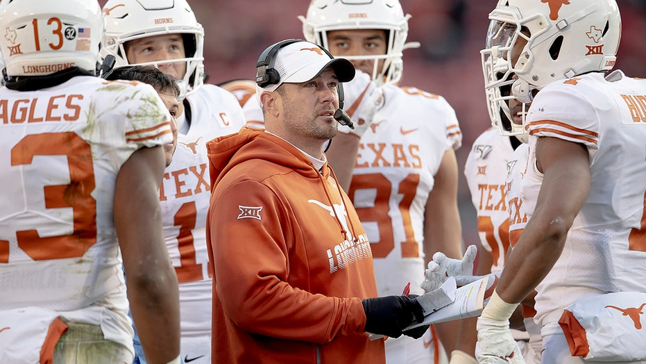 Texas Tom Herman Head Butts Player Several Times During