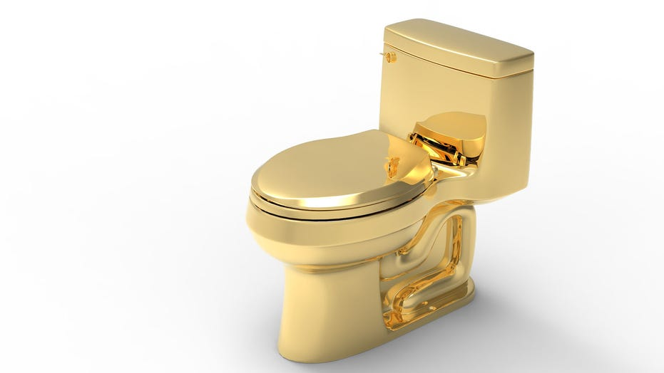 Fabulous Golden Toilet Worth More Than A 1 Million May Break World Inzonedesignstudio Interior Chair Design Inzonedesignstudiocom
