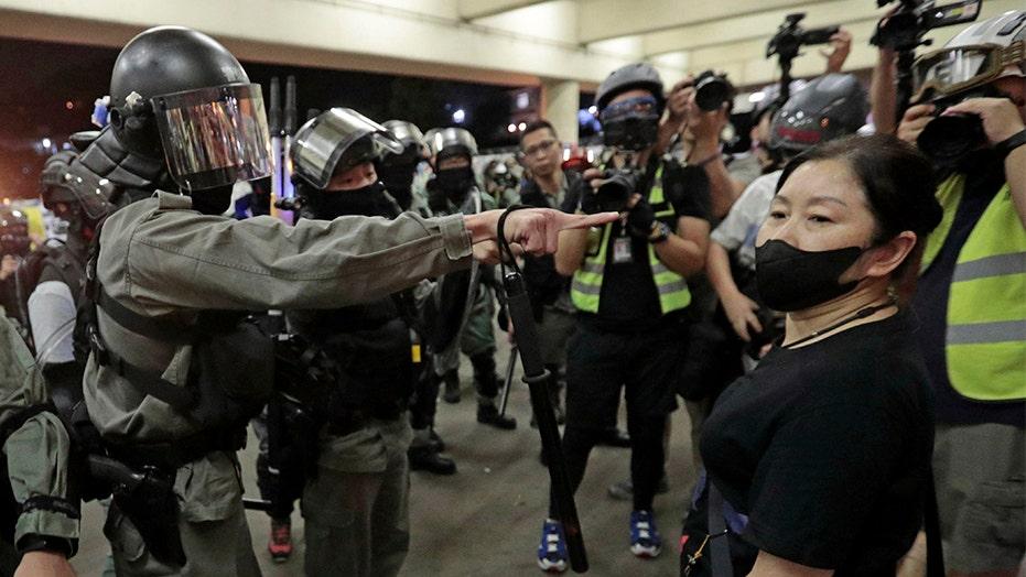 Hong Kong anticipates Trump signing human rights bill into law