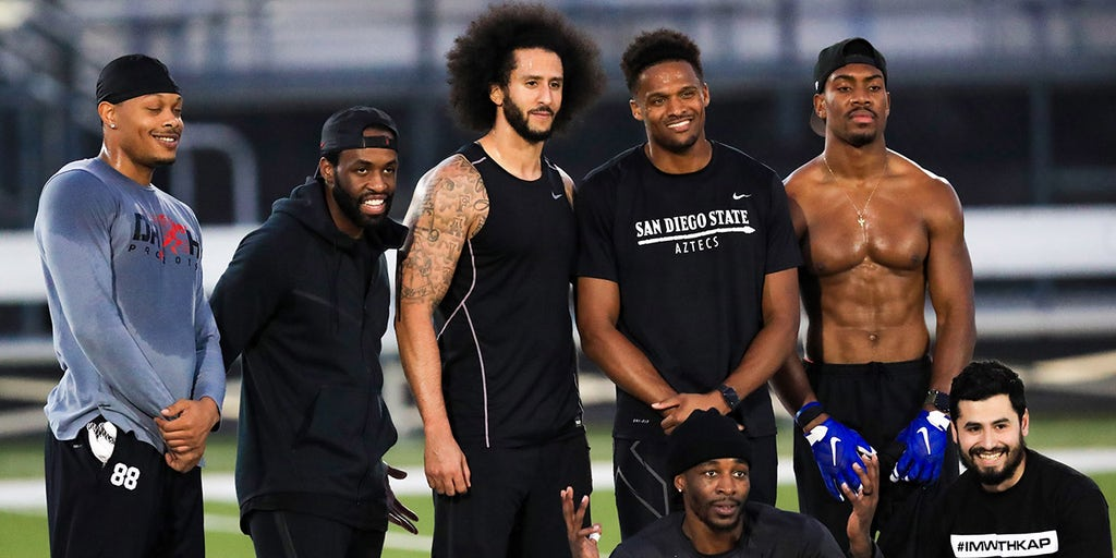 Colin Kaepernick workout wide receiver lands NFL job, credits showcase for helping