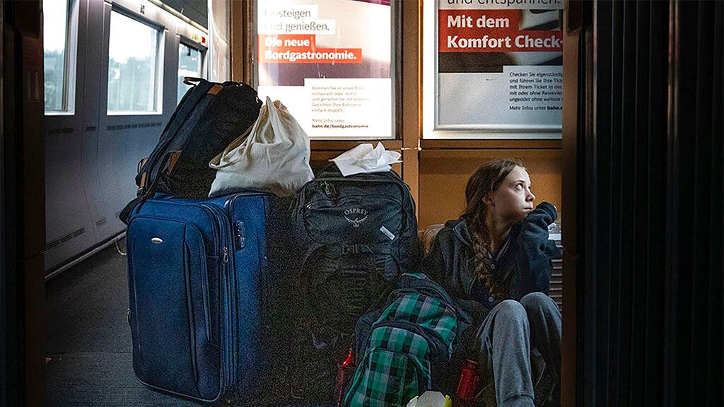 German railway calls out Thunberg over this tweet on 'overcrowded' train