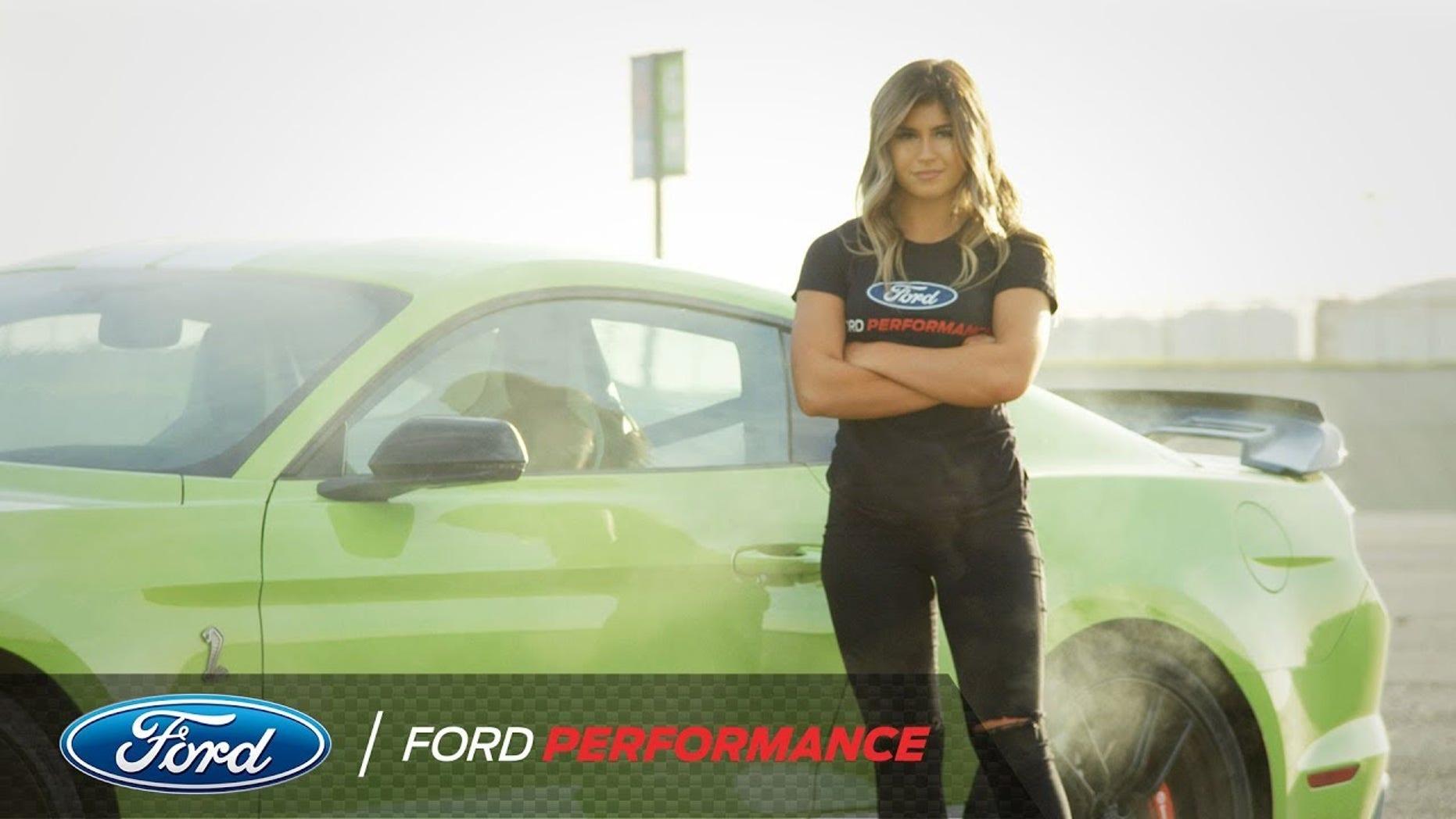 NASCAR star Hailie Deegan