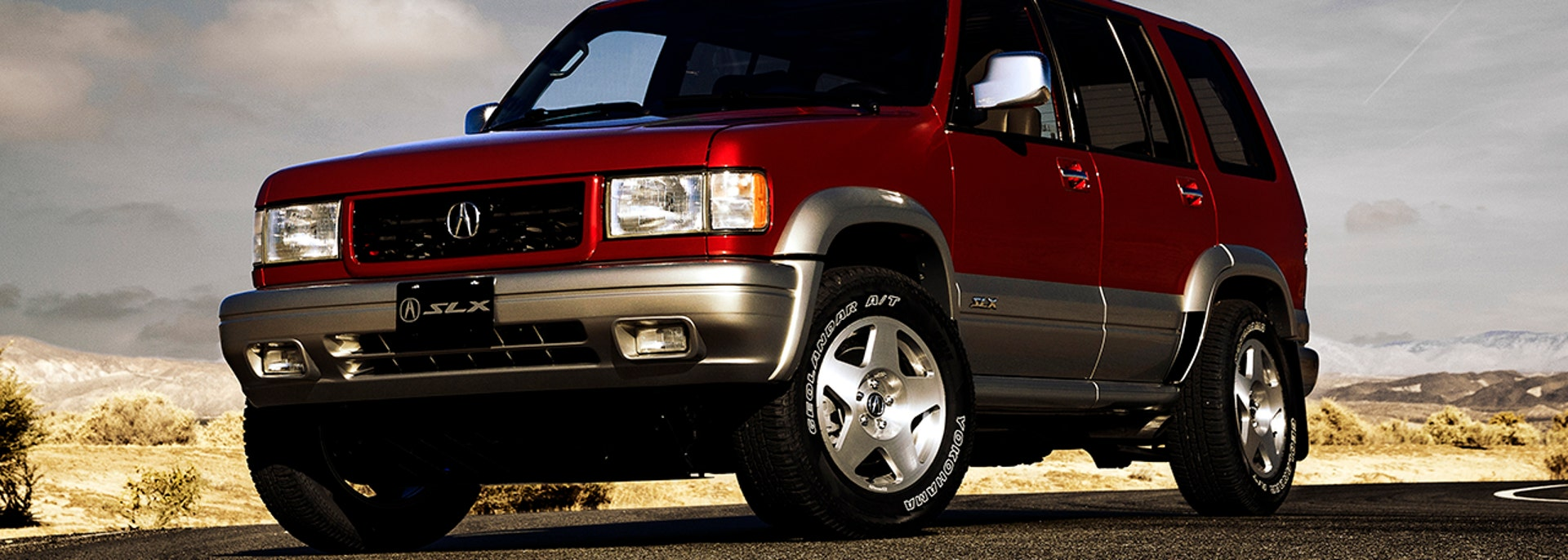 Acura reboots 1996 SLX SUV with latest tech for retro car