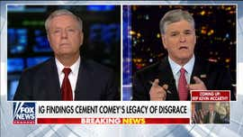 Lindsey Graham says 'arrogant' Comey did more damage to FBI than J. Edgar Hoover, wants Rosenstein to testify