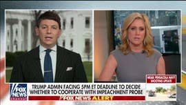 Melissa Francis presses White House spokesman on claim some Senate Republicans could support impeachment