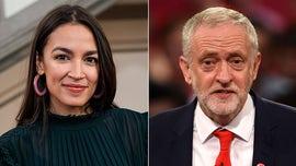 AOC slammed for backing UK 'anti-Semite' Jeremy Corbyn's Labour Party
