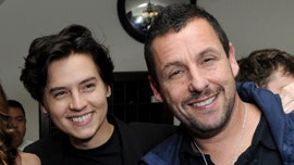 Adam Sandler and Cole Sprouse reunite 20 years after 'Big Daddy'
