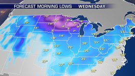 Strong cold front to sweep through South, East