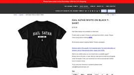 American Airlines apologizes to passenger booted over 'Hail Satan' T-shirt